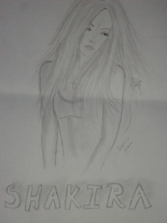 Shakira by xiomara